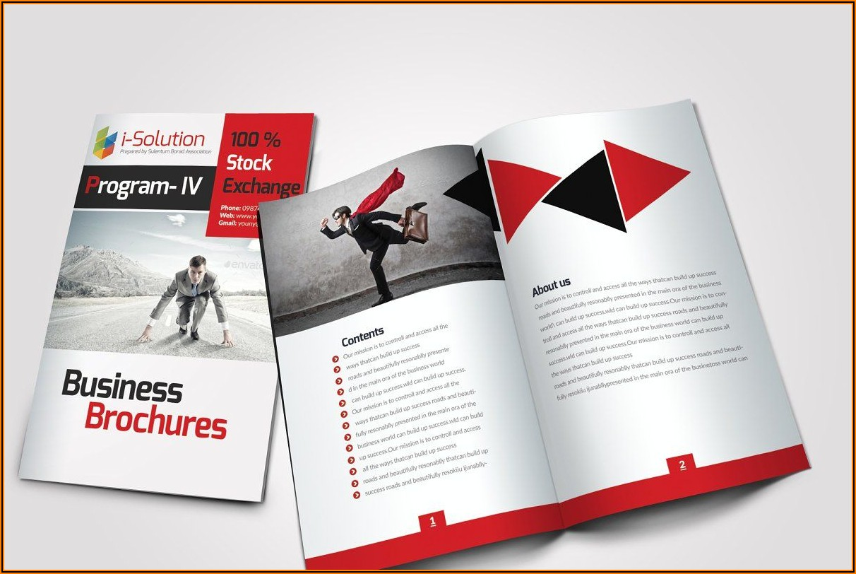 10 Pages Brochure Template Free