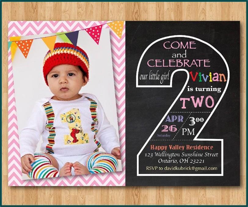 1st Birthday Invitation For Baby Boy