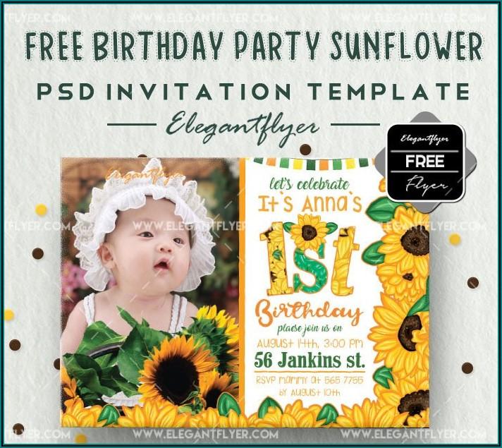 1st Birthday Invitation Templates For Boy