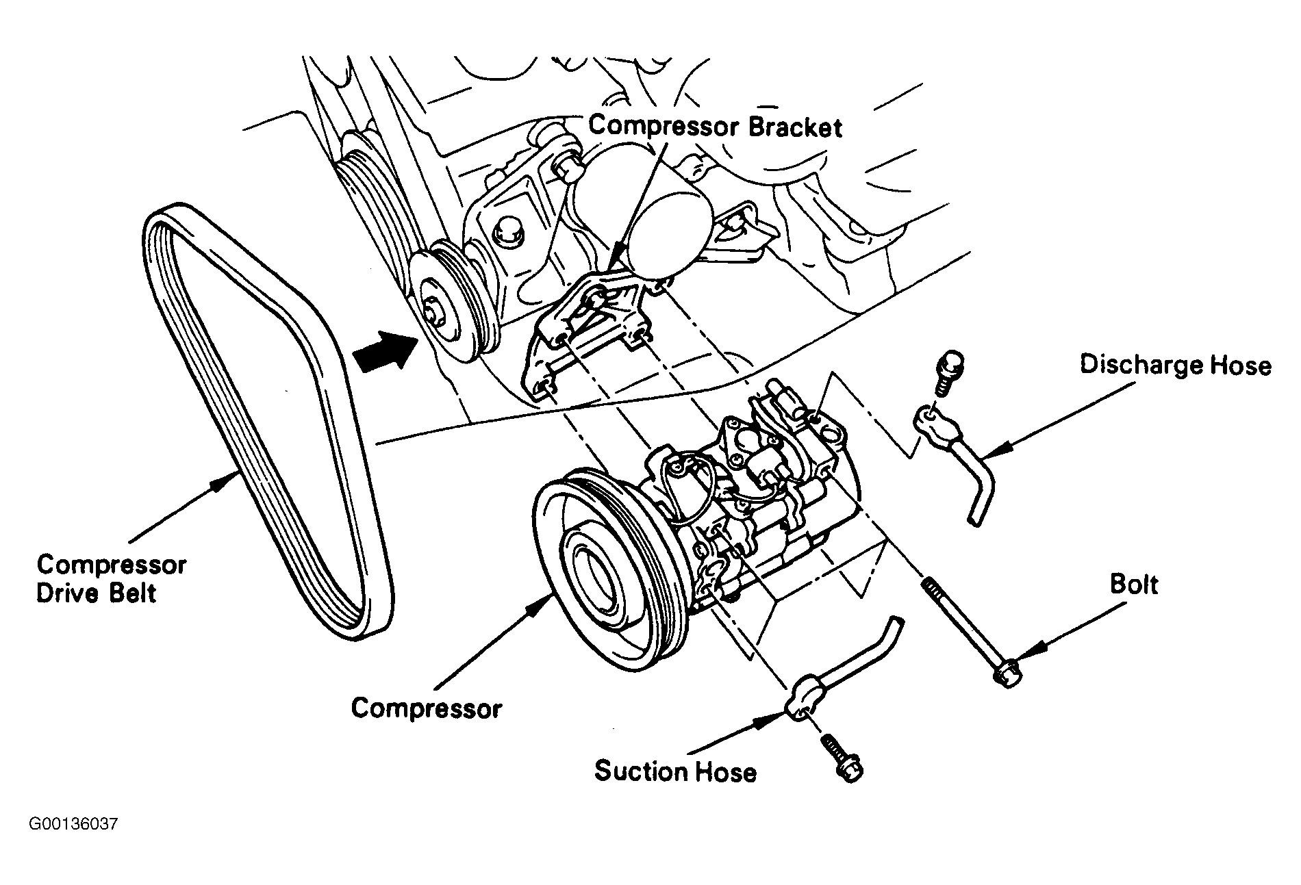 2009 Toyota Camry V6 Serpentine Belt Diagram