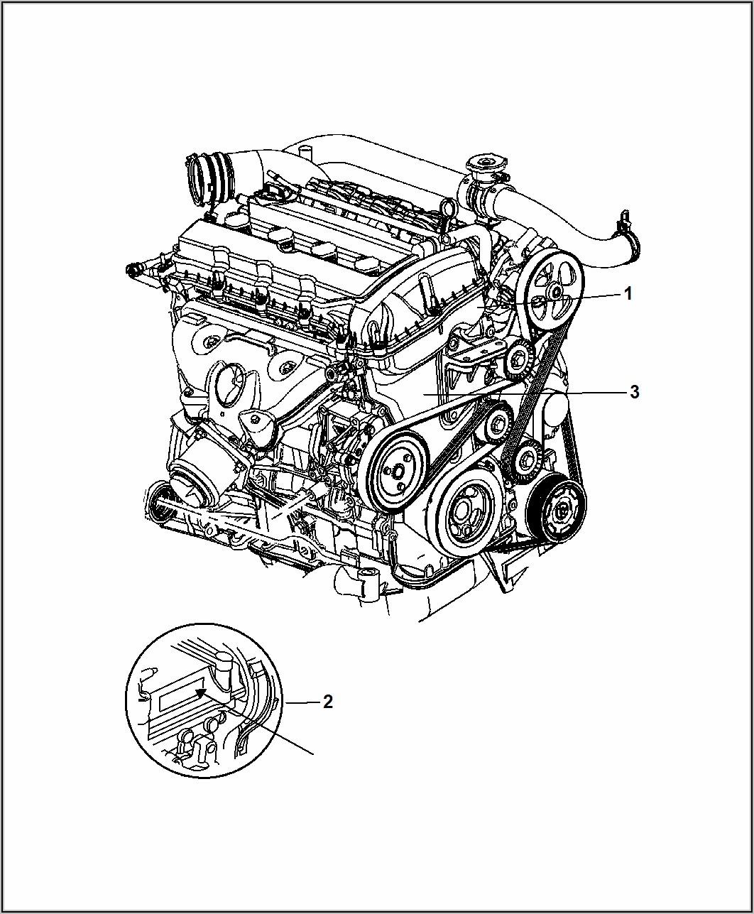 2013 Dodge Avenger 2.4 Serpentine Belt Diagram