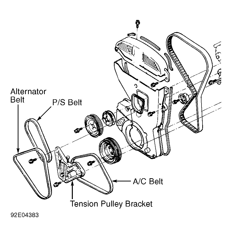 2013 Dodge Avenger Sxt Serpentine Belt Diagram