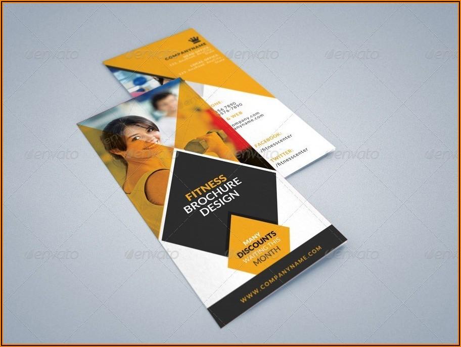 3 Fold Brochure Template Illustrator
