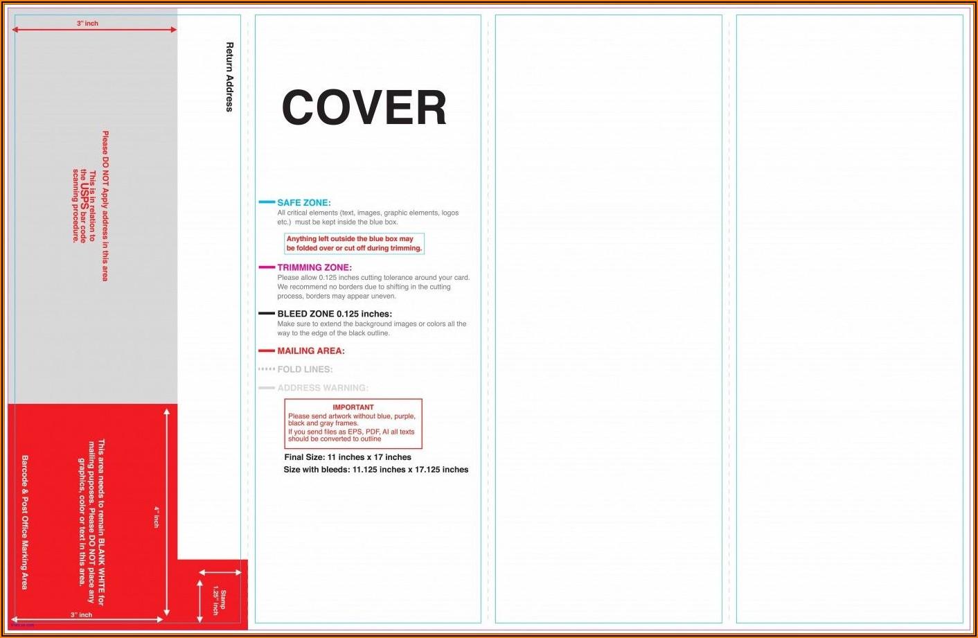 4 Fold Brochure Template Indesign