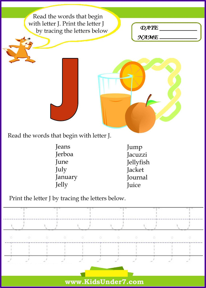 7 Letter Words Starting With A J