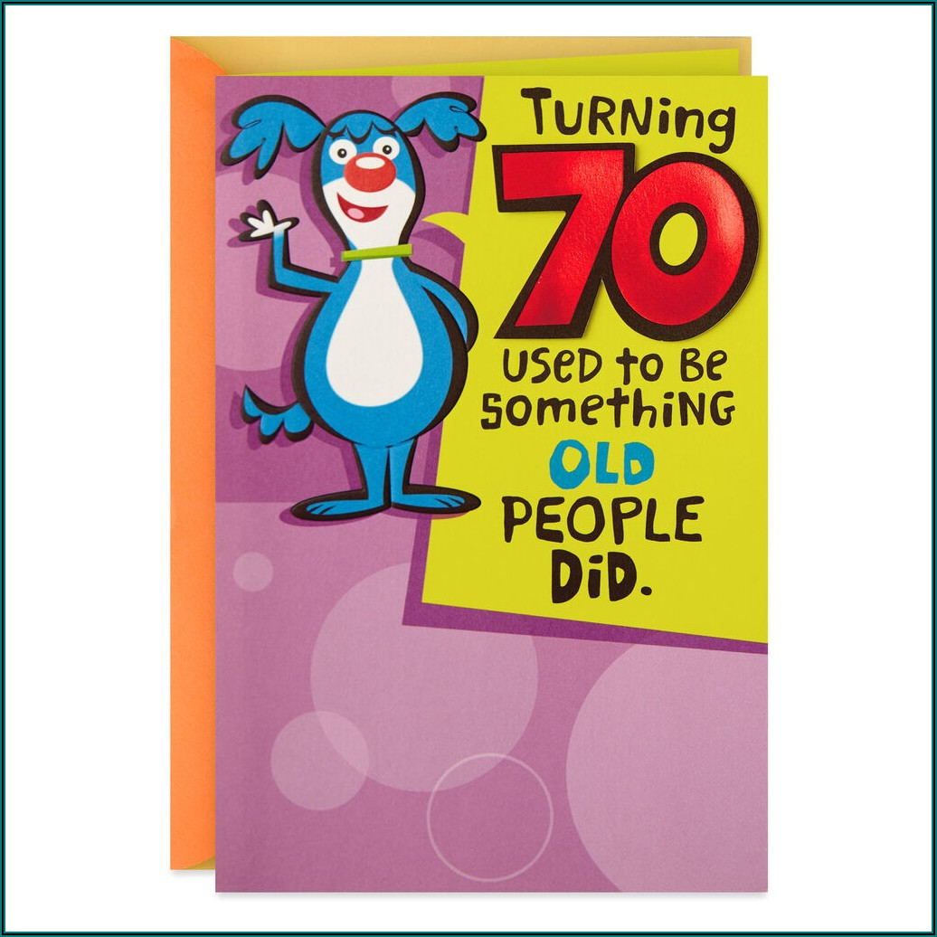 70th Birthday Invitations For Him