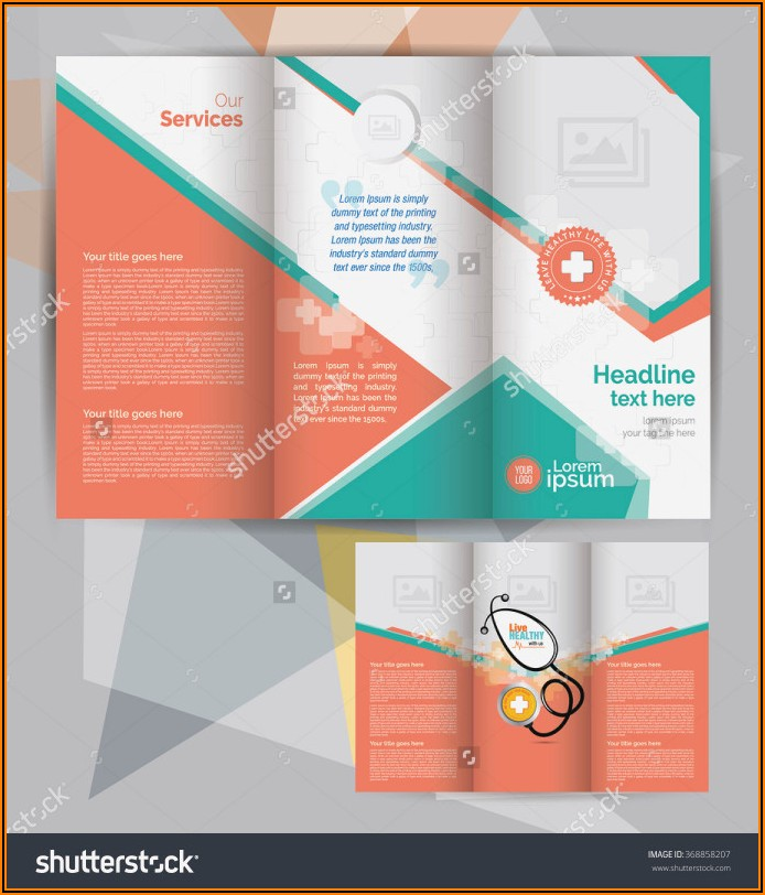 Adobe Illustrator Tri Fold Brochure Templates Free Download