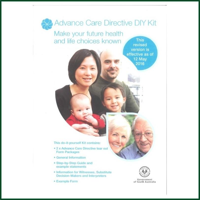 Advance Care Directive Forms Sa
