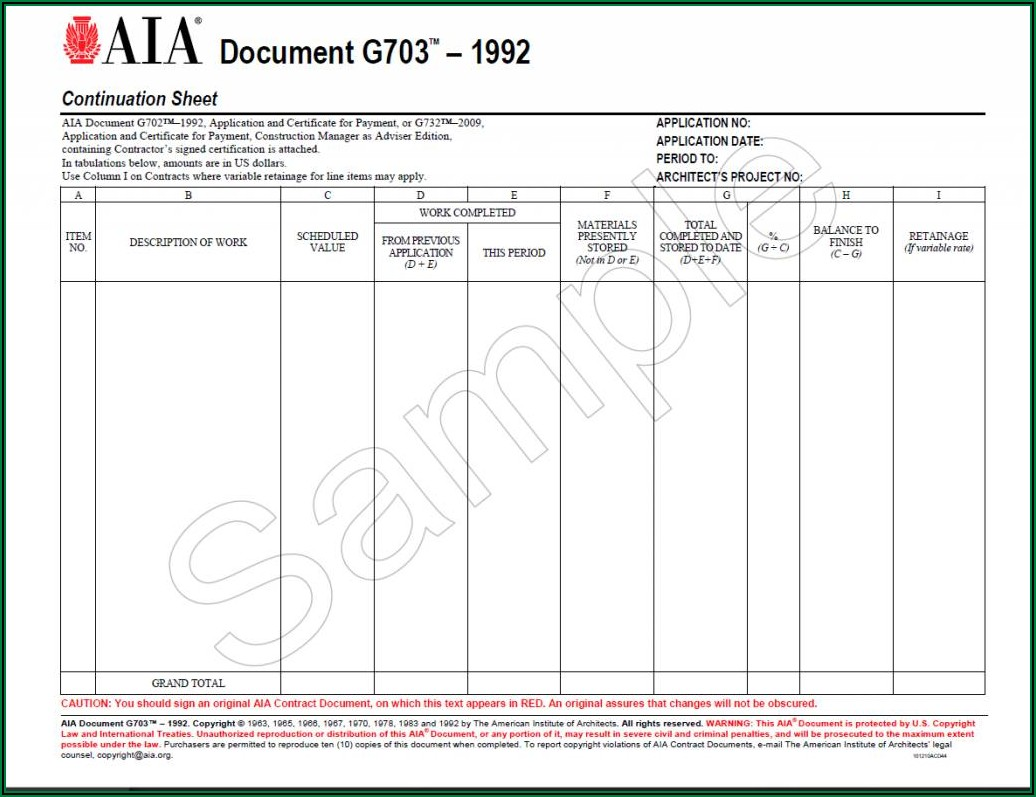 Aia Payment Request Form Excel