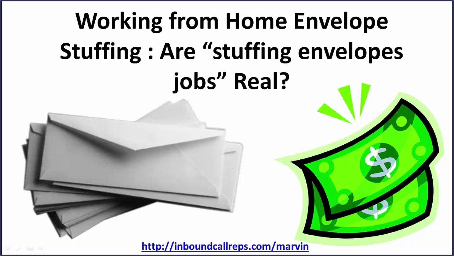 Are There Legitimate Envelope Stuffing Jobs