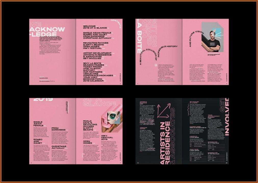 Best Booklet Design 2019