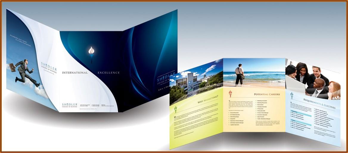 Best Tri Fold Brochure Designs