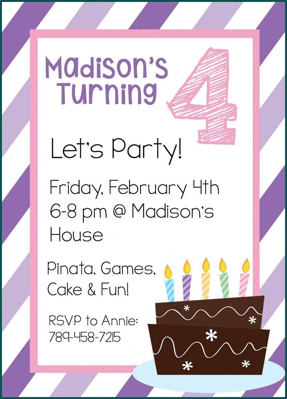 Birthday Invitation Maker Free Online