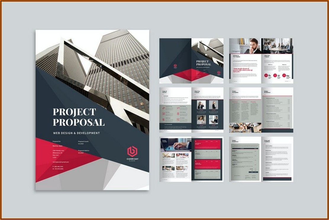 Business Brochure Templates Pdf Free Download