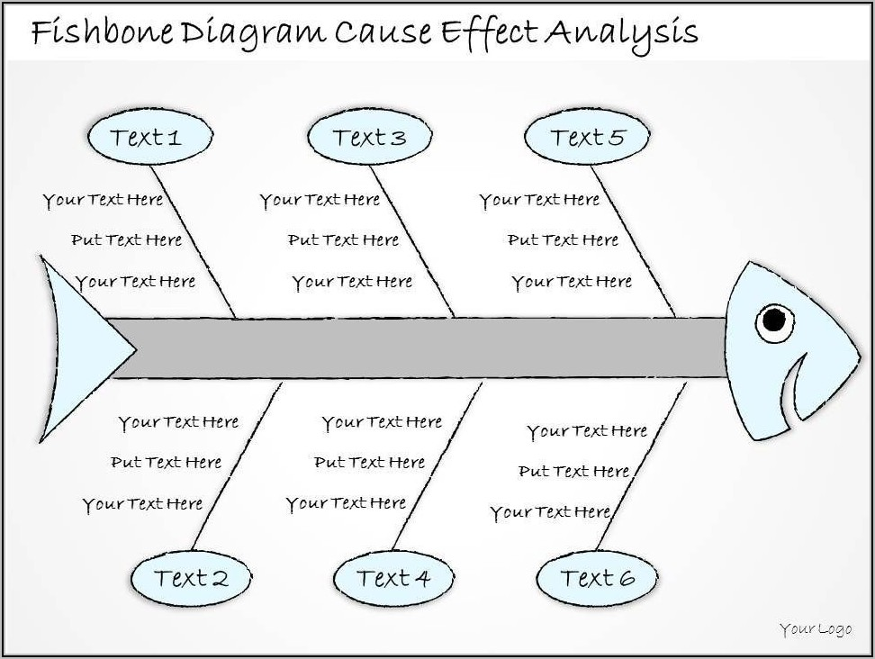 Cause And Effect Diagram Template Ppt