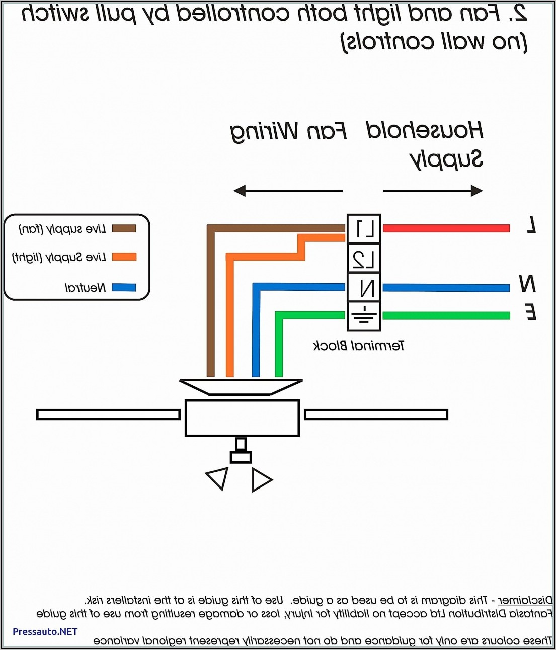 Ceiling Fan Wiring Diagram Australia