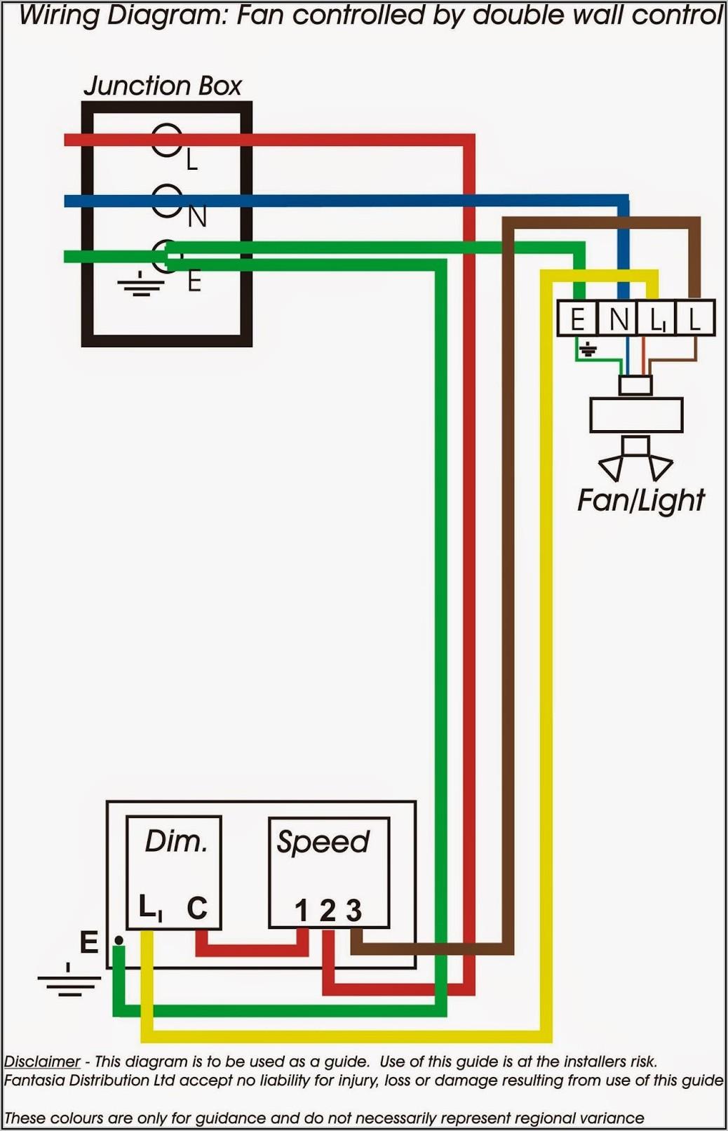 Ceiling Fan Wiring Diagram Double Switch