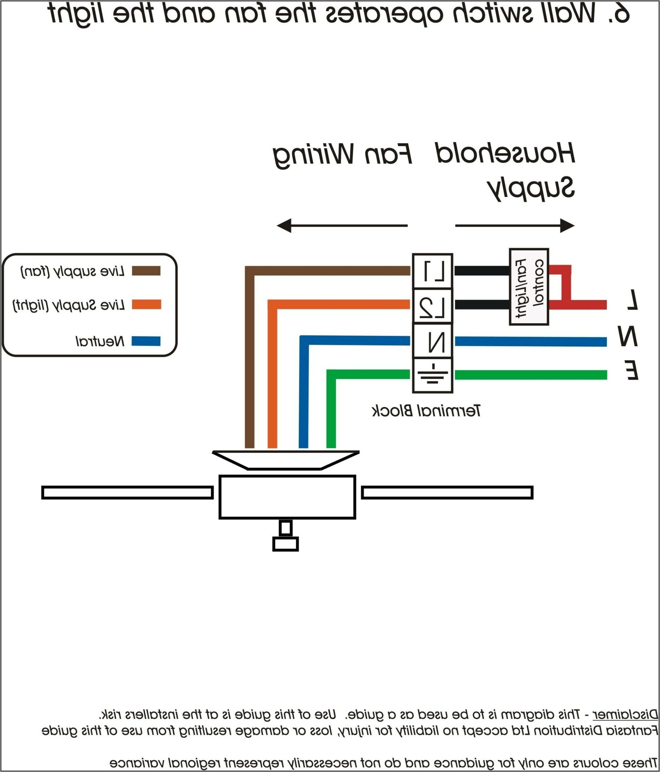 Ceiling Fan Wiring Diagram Two Switches