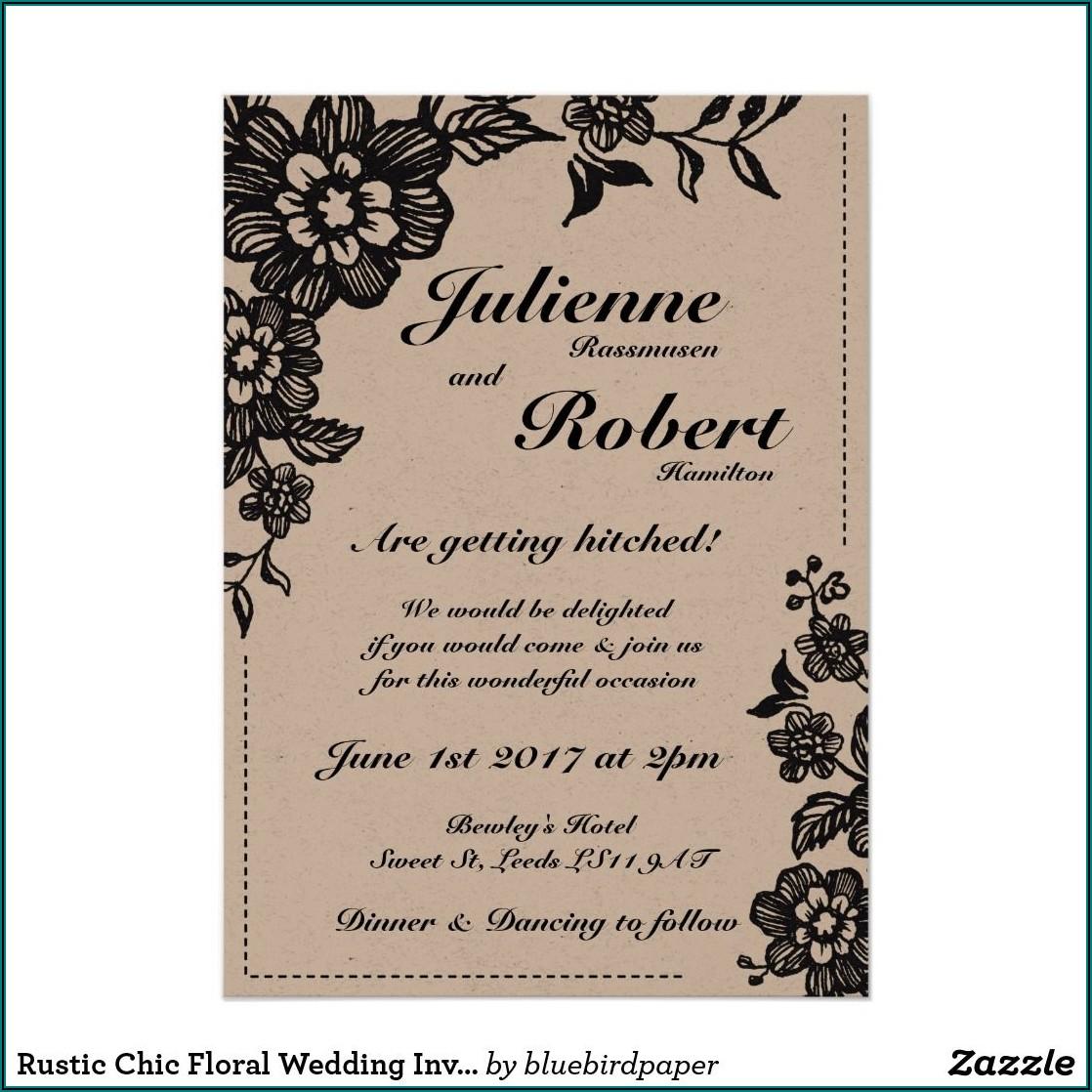 Chic Wedding Invitations Uk