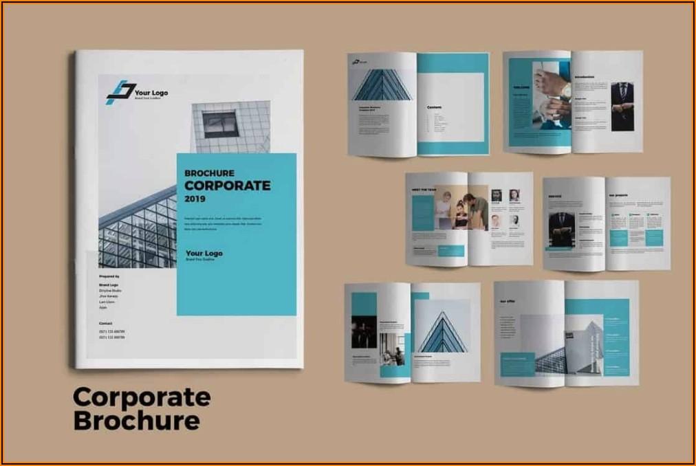 Corporate Brochure Design Templates