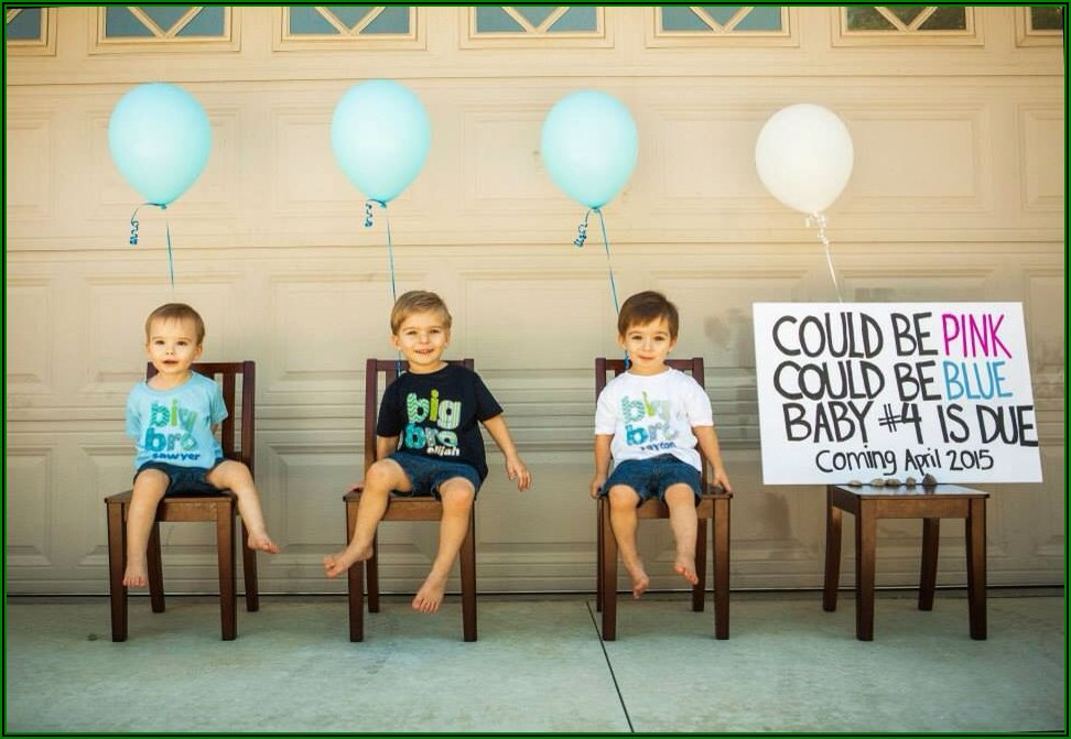 Creative Ways To Announce Pregnancy To Older Siblings