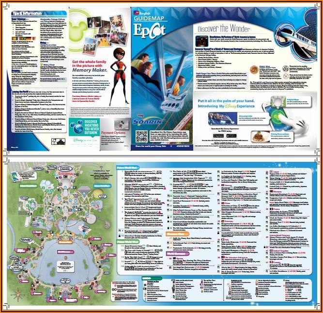Disney World Brochure 2019 Pdf