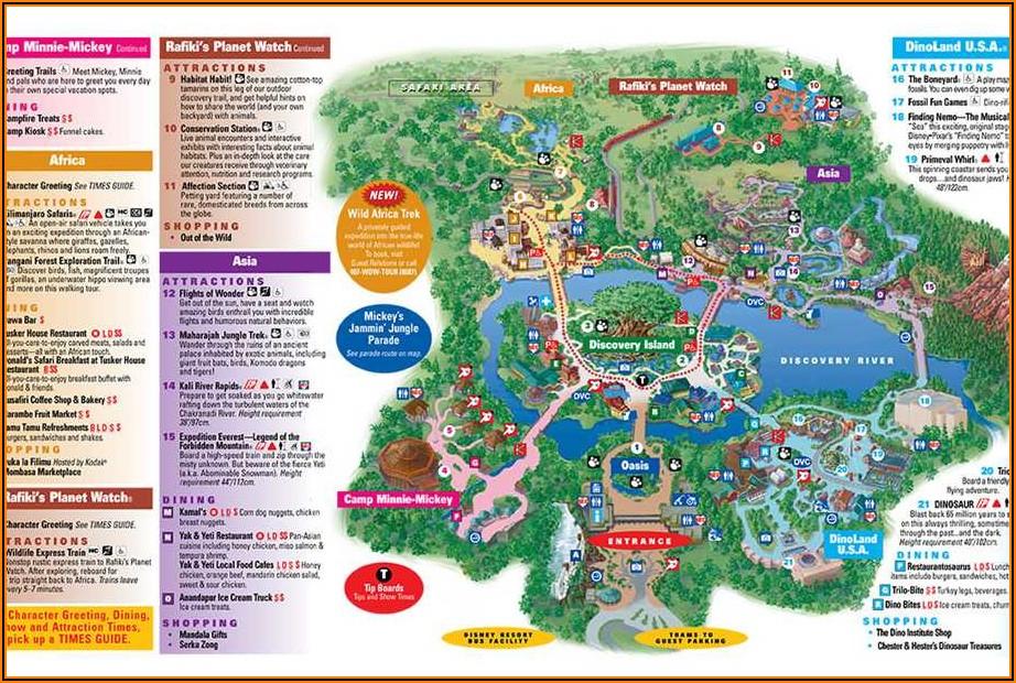 Disney World Brochure Pdf