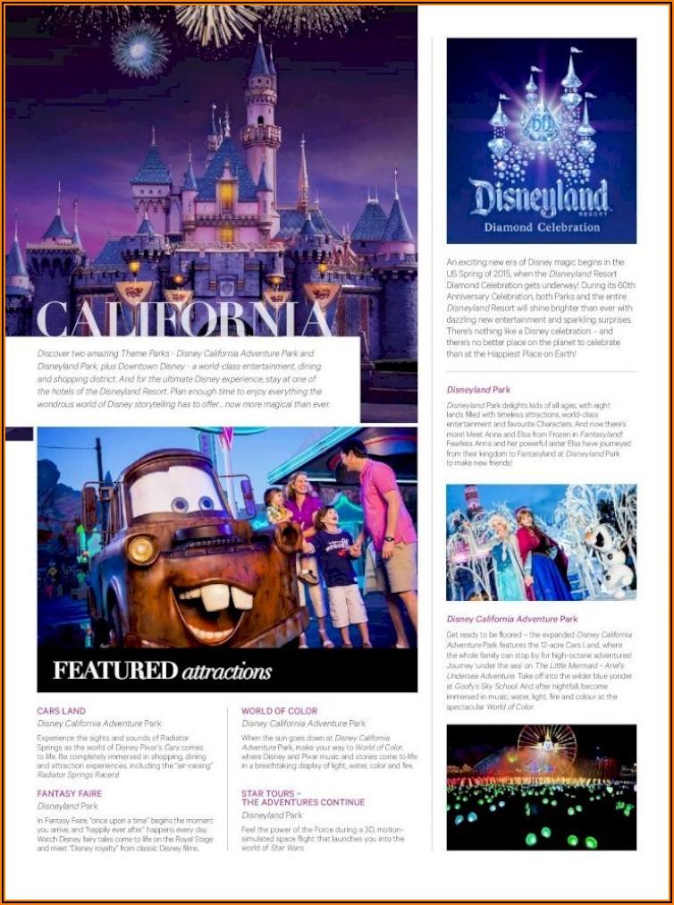 Disney World Orlando Brochure Pdf