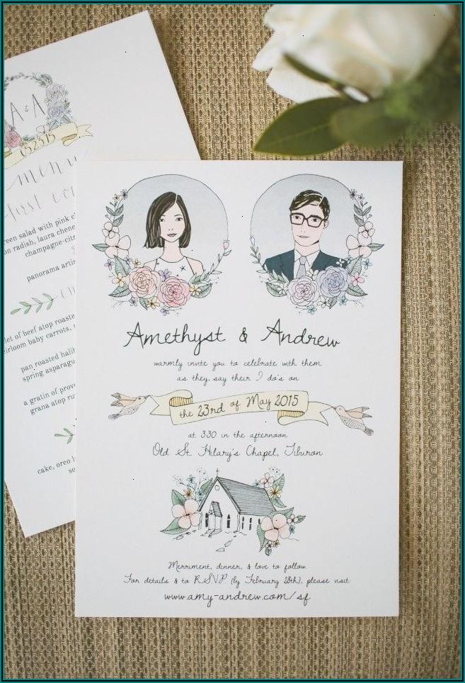 Diy Wedding Invitation Kits