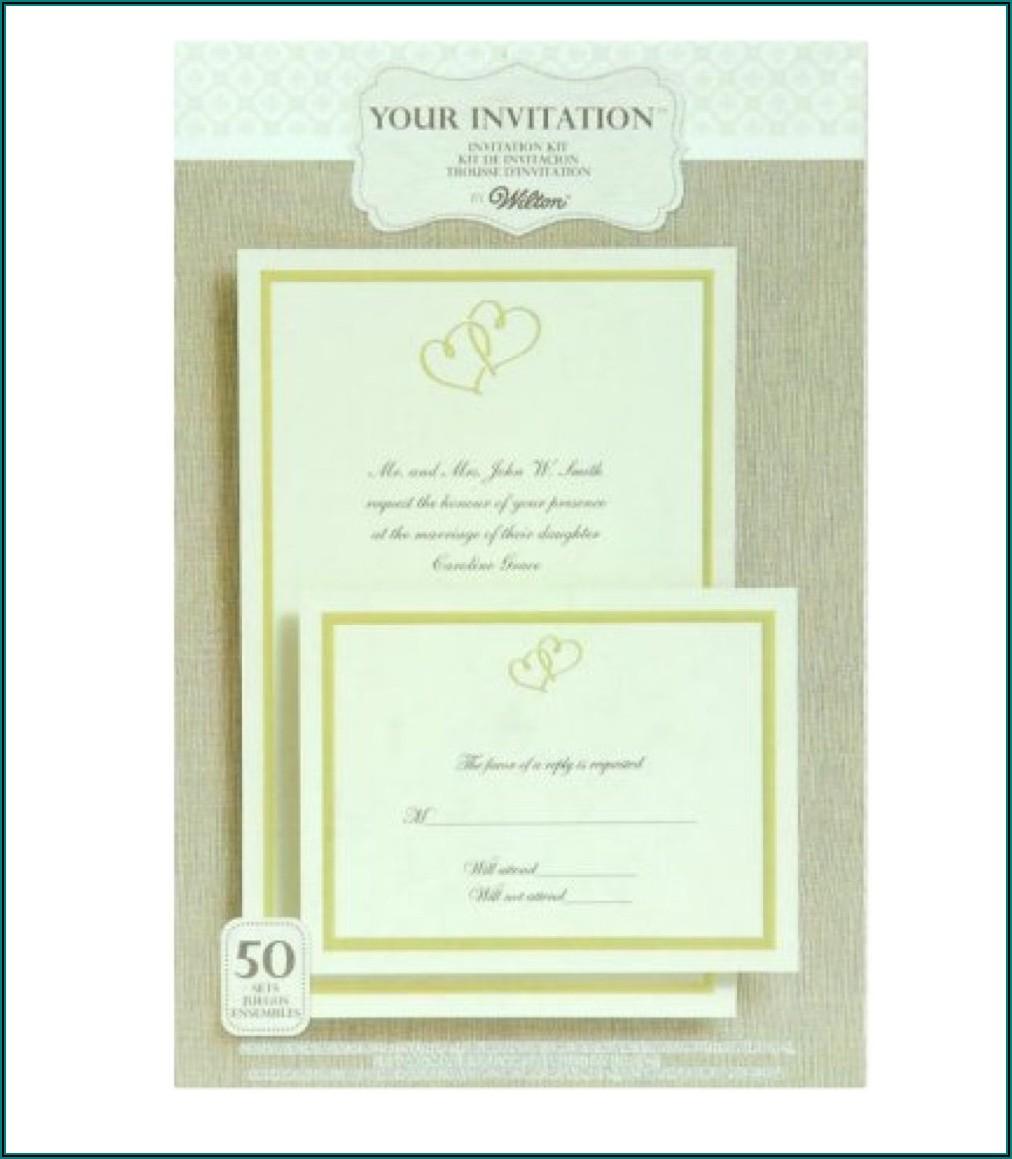 Do It Yourself Wedding Invitation Kits