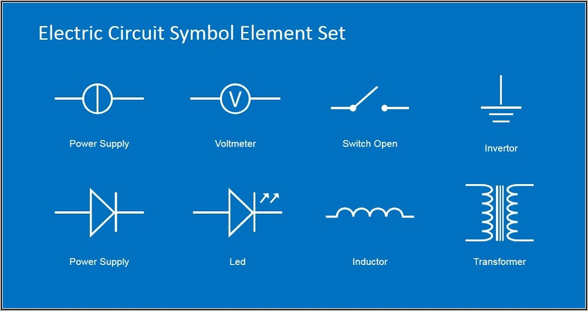 Electrical Wiring Diagram Symbols Ppt