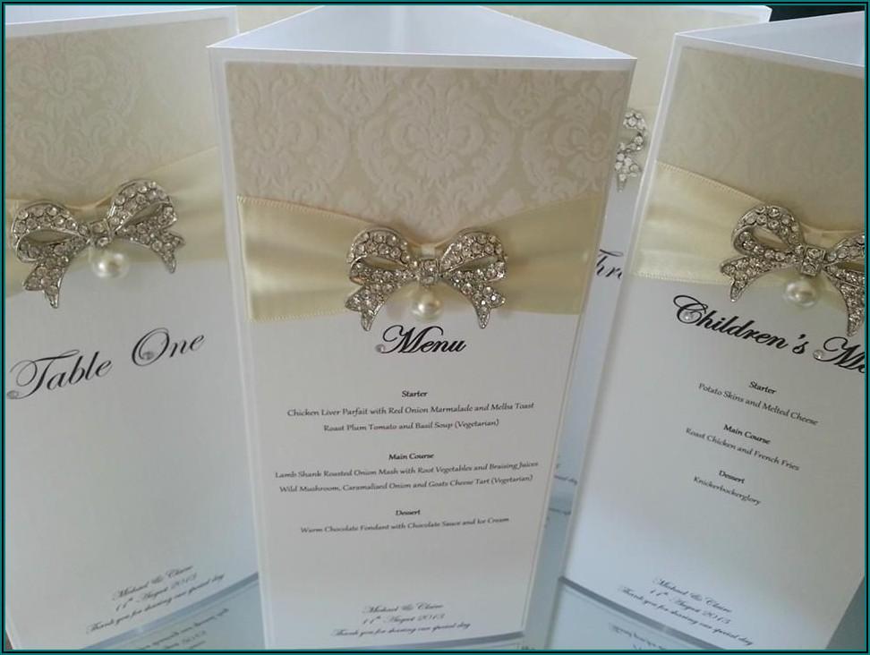 Elegant Luxury Wedding Invitations Uk