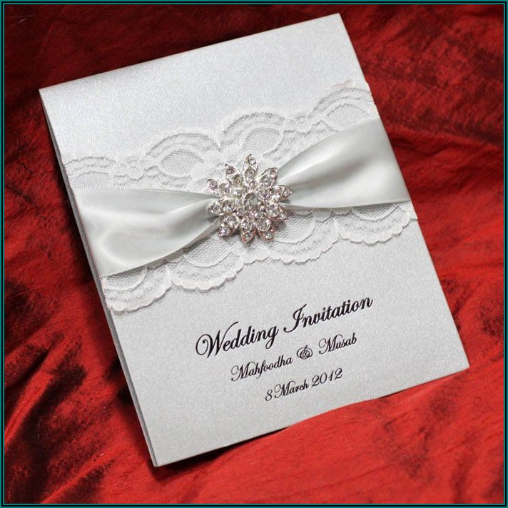 Elegant Wedding Invitation Card Design