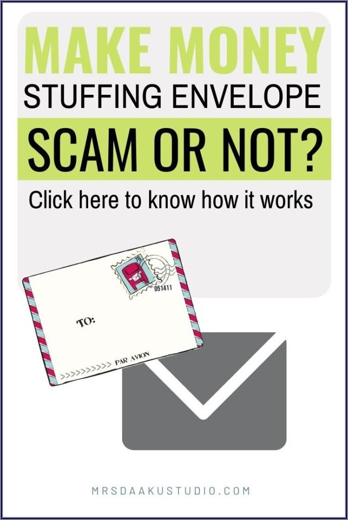 Envelope Stuffing Jobs Legit