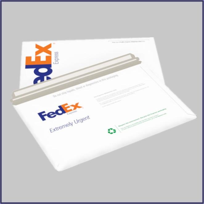 Fedex Envelope Dimensions Us