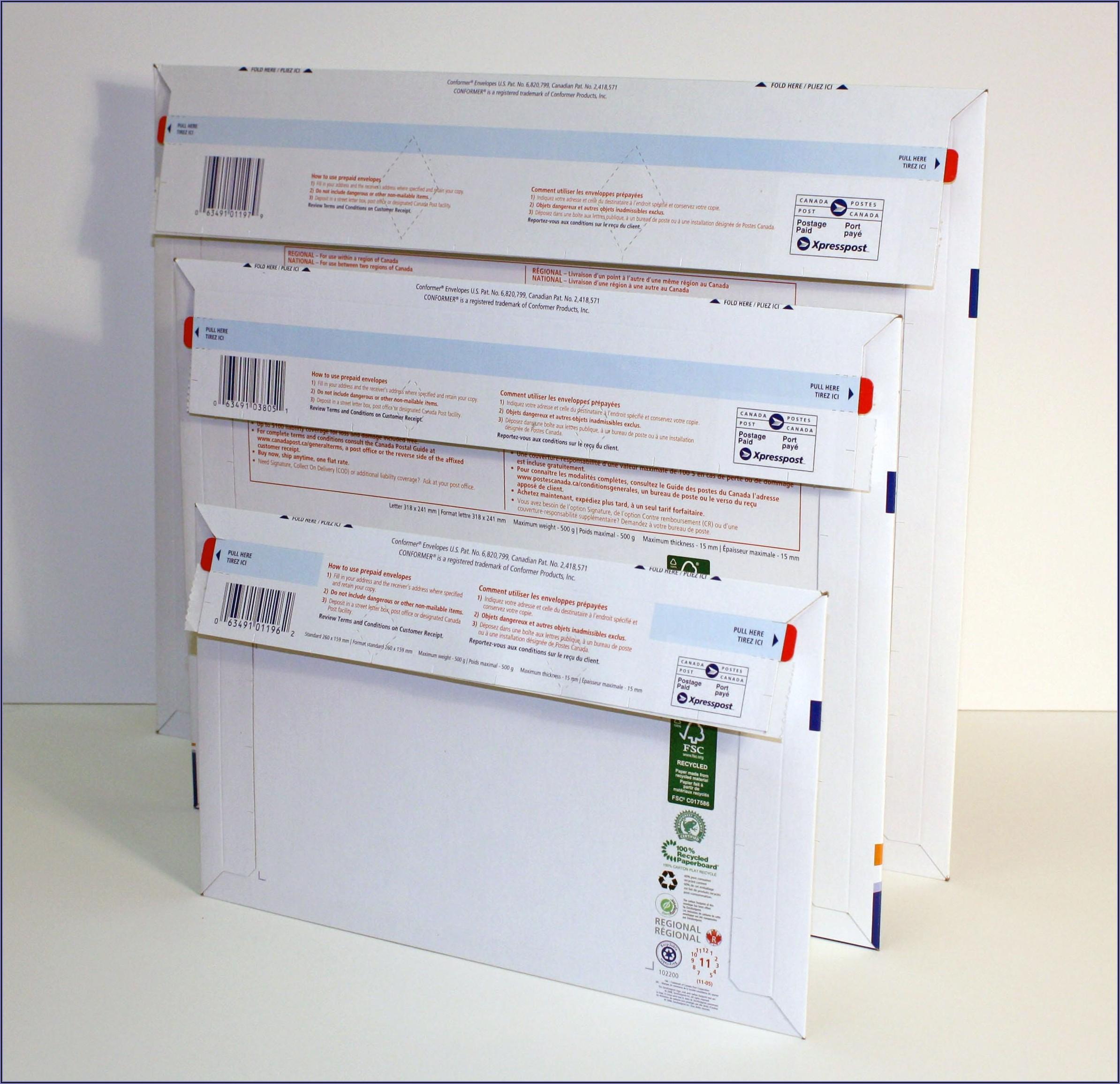 Fedex Prepaid Envelope Canada