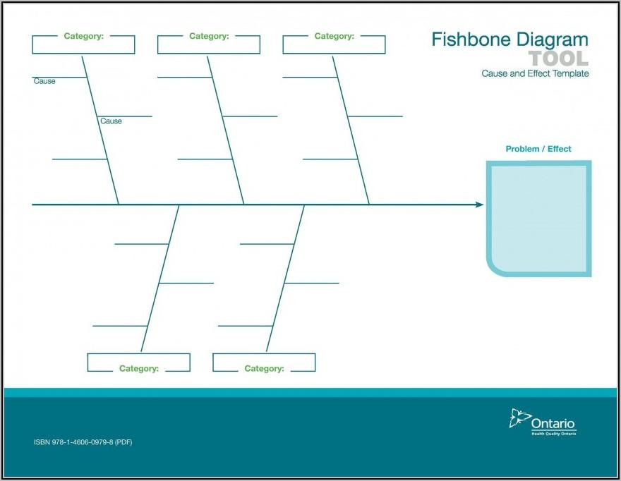 Fishbone Diagram Template Microsoft Word