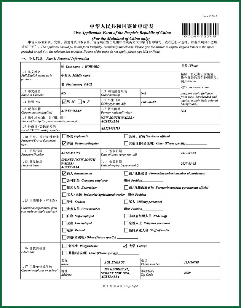 Forms To Renew Uk Passport In Australia
