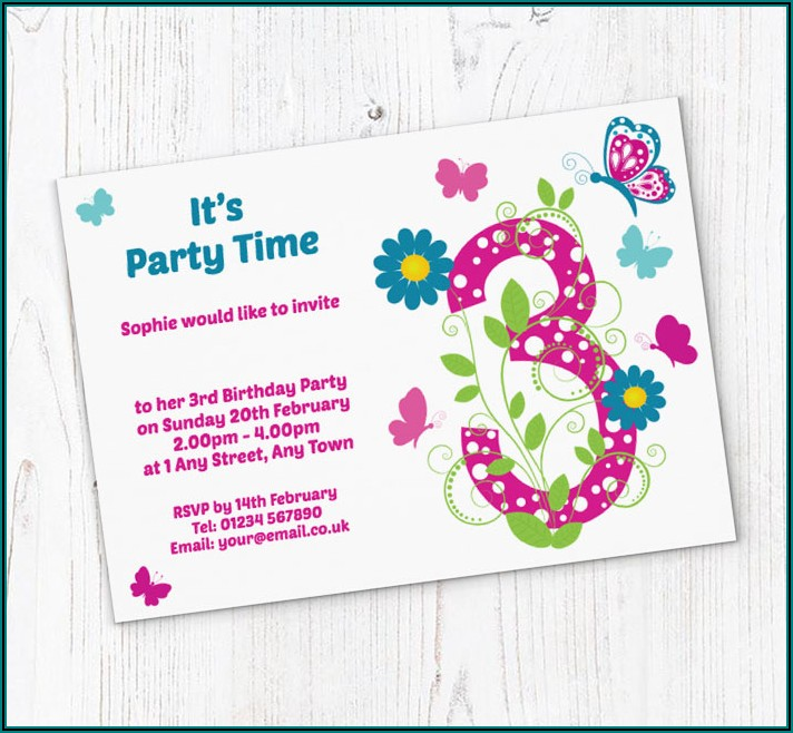 Free Birthday Party Invitations Online