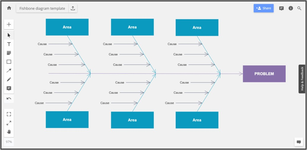 Free Editable Fishbone Diagram Template Excel