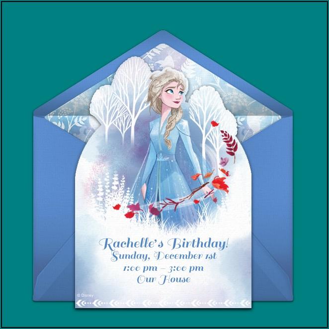 Free Frozen Birthday Invitations Online