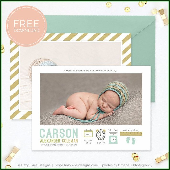 Free Pregnancy Announcement Template For Facebook