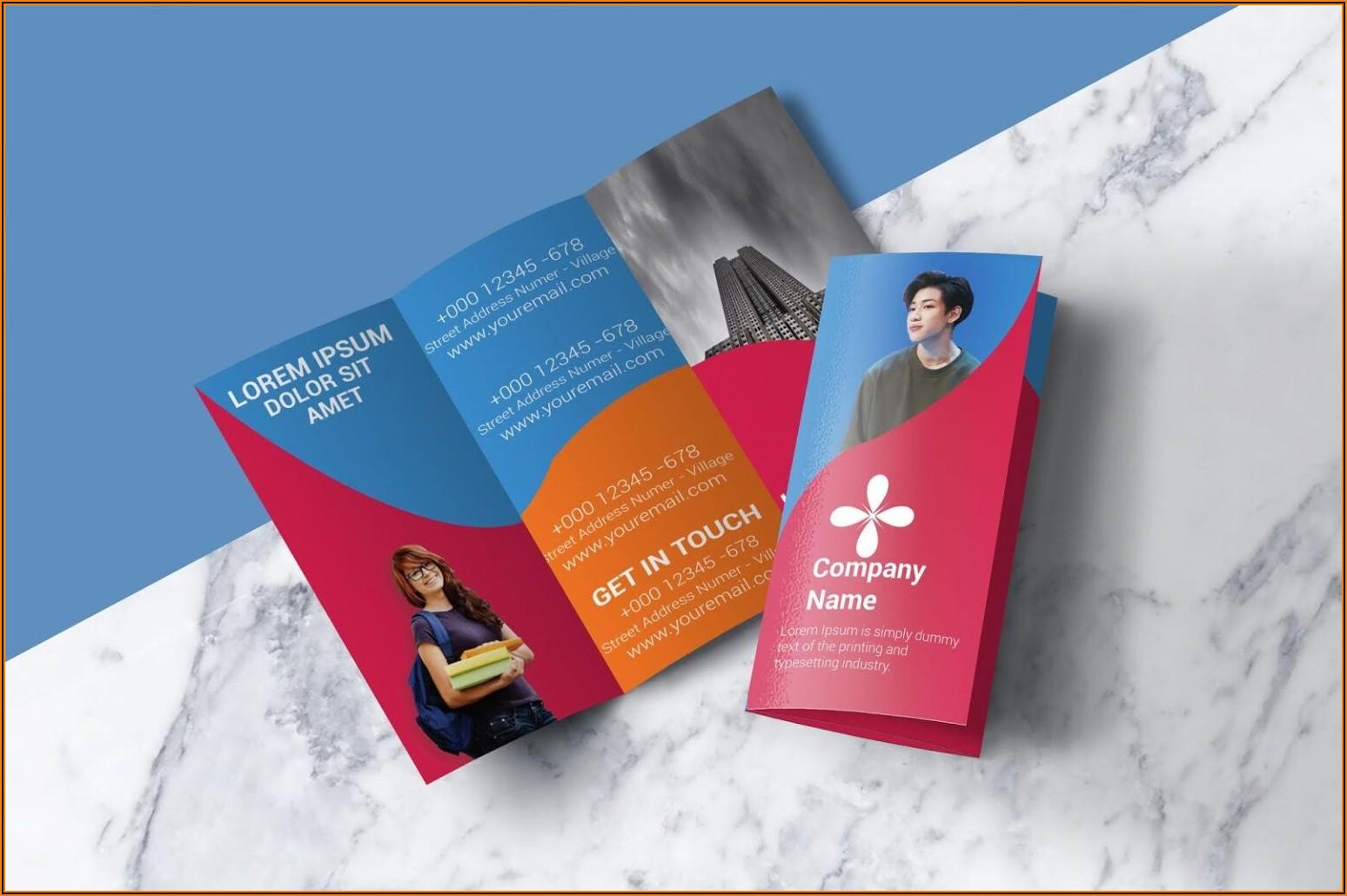 Free Tri Fold Brochure Template Illustrator