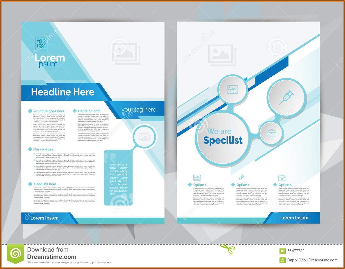 Healthcare Brochure Templates Free Download