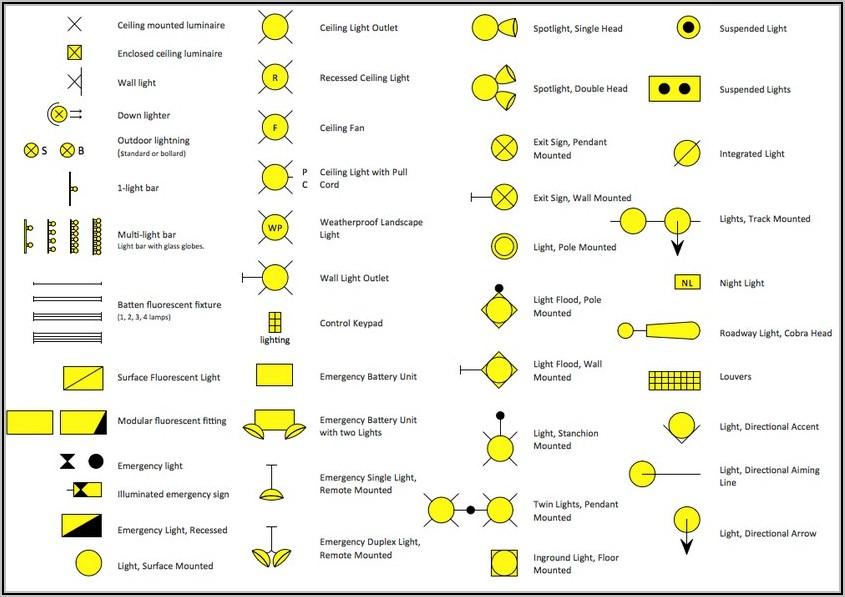 Home Wiring Diagram Symbols