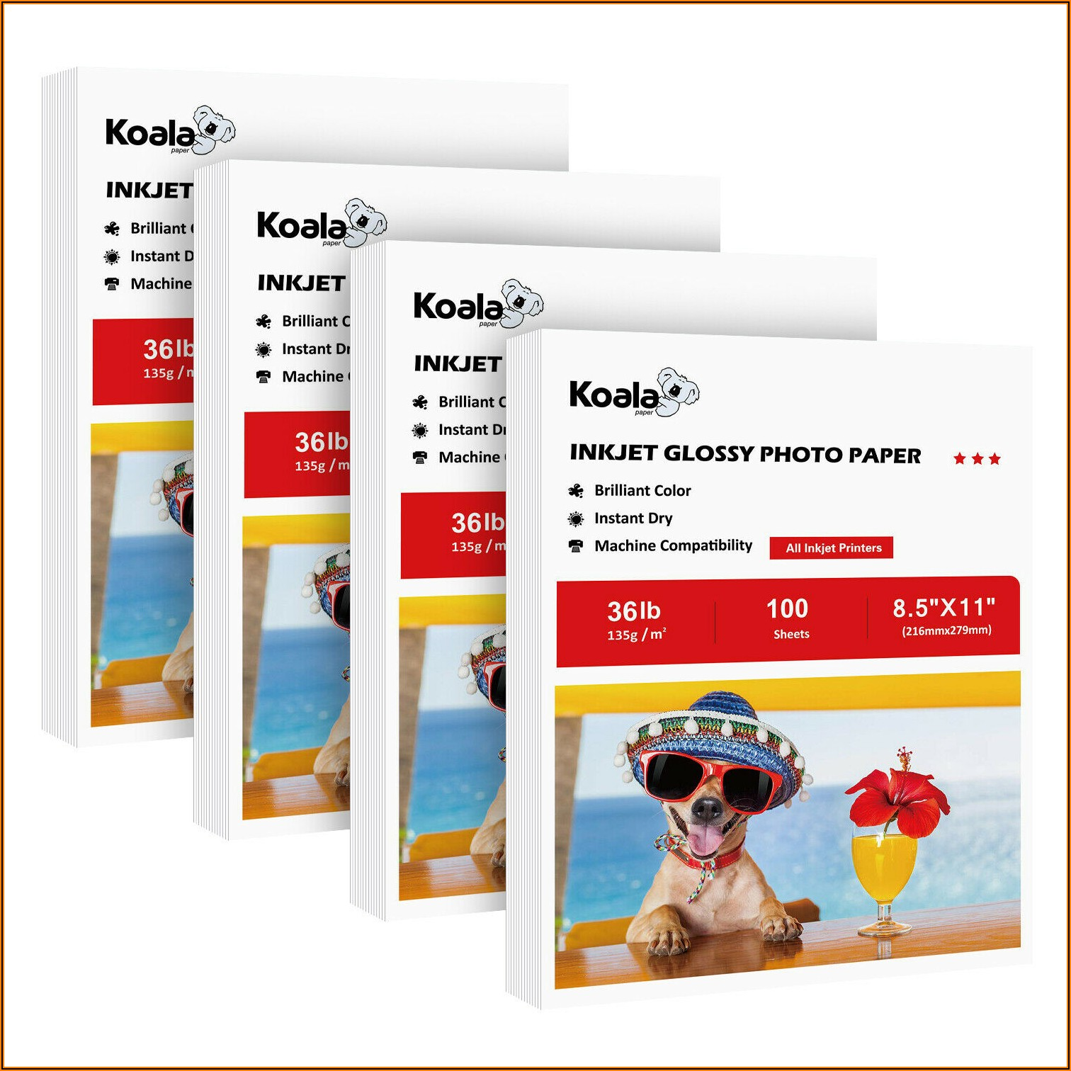 Hp Brochure And Flyer Paper Inkjet 11x17 Glossy