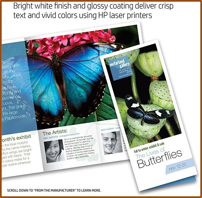 Hp Brochure Paper 200g Glossy