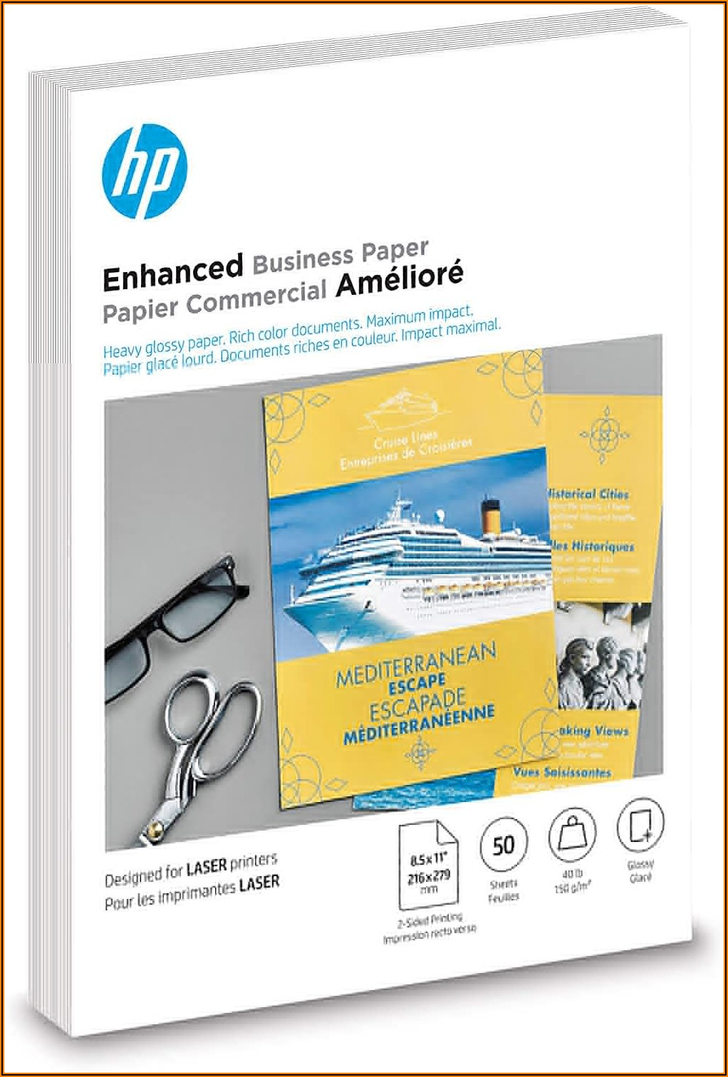 Hp Glossy Brochure Or Professional Paper