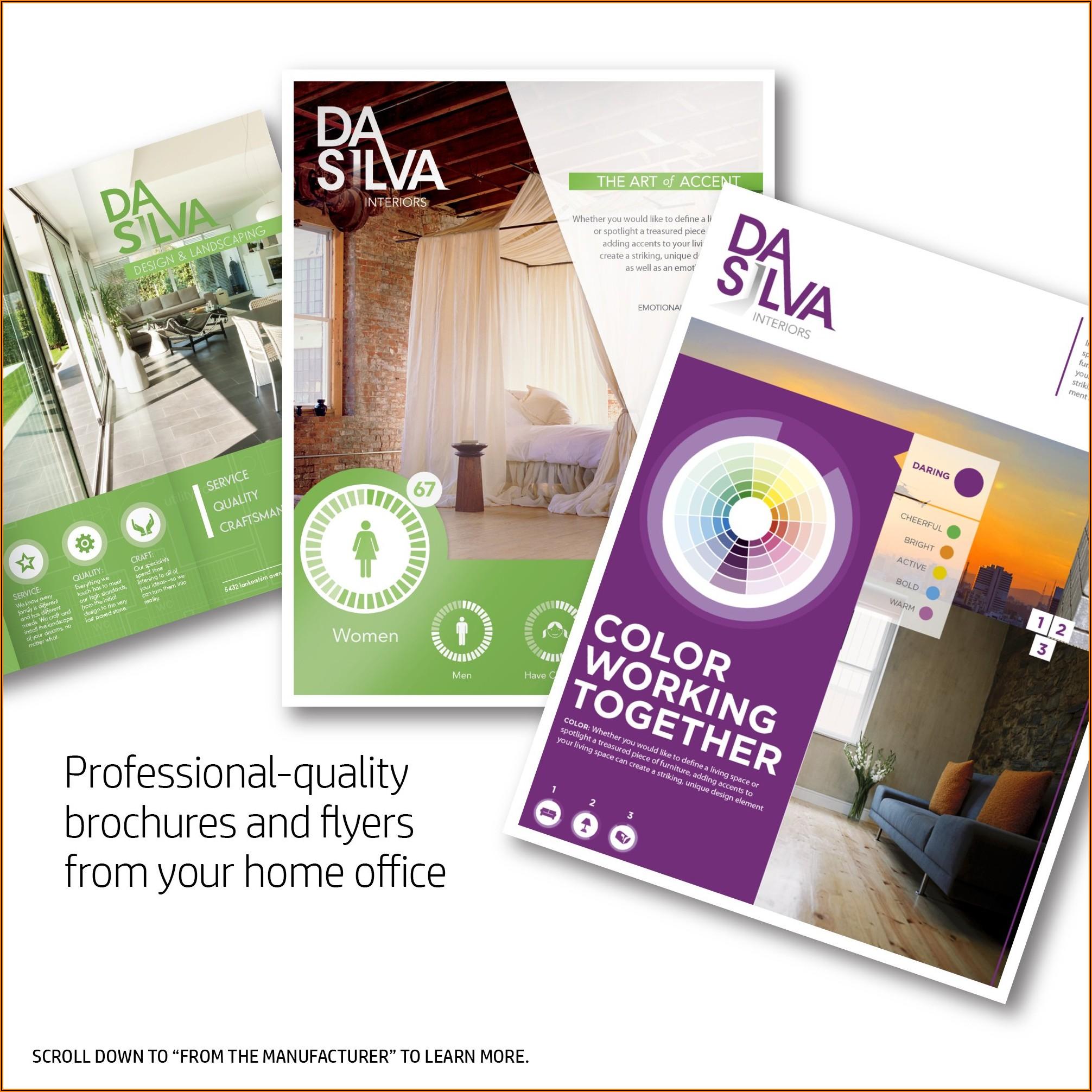 Hp Glossy Brochure Paper 200g