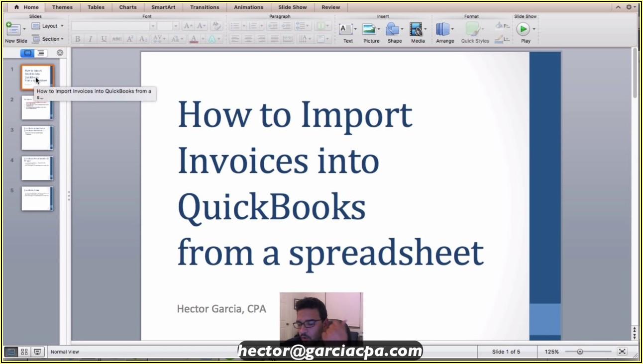 Import Bills Into Quickbooks Enterprise